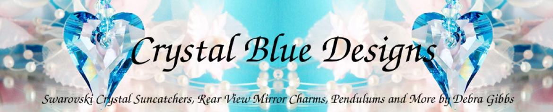 Crystal Blue Designs Banner