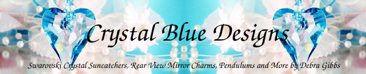 Crystal Blue Designs Banner