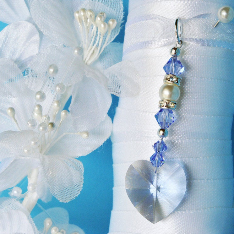 something blue wedding accessories