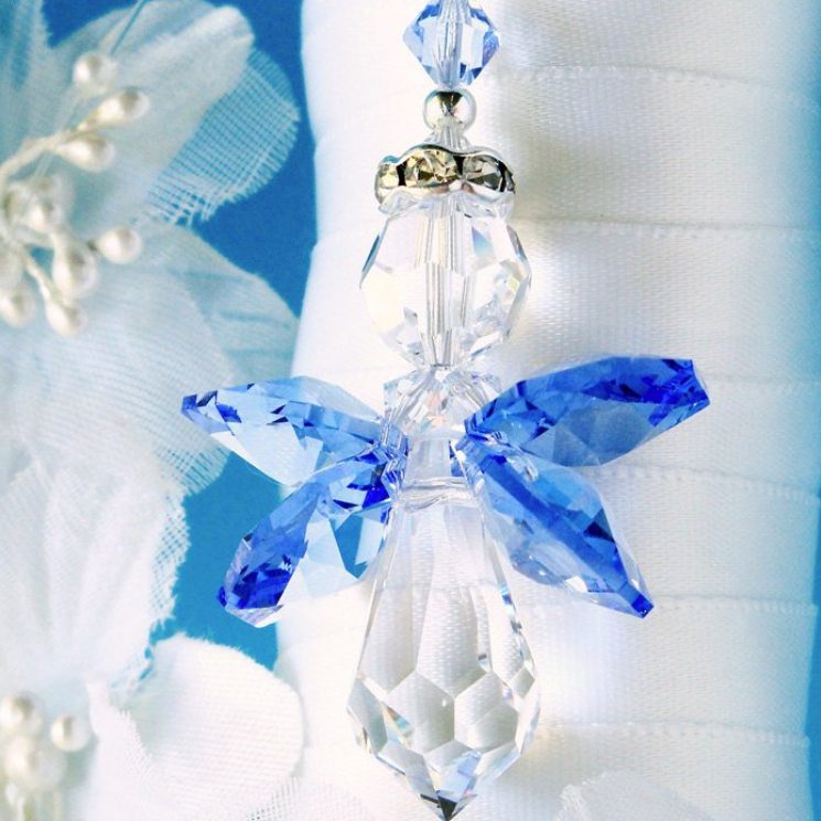 something blue for bride
