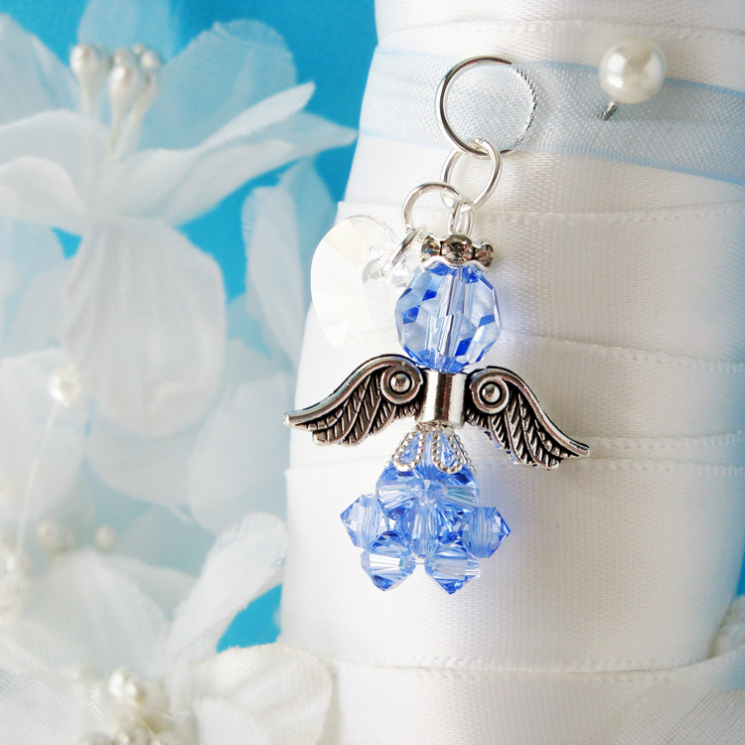 angel wedding charm