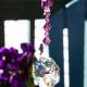 swarovski crystal car charm