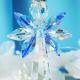 swarovski crystal angel car charm