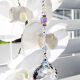 swarovski crystal ceiling fan pull