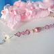 pink little girls room light pull