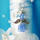something blue bridal bouquet charm