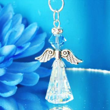 Swarovski Crystal Guardian Angel Charm