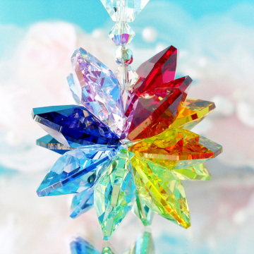 crystal suncatcher car charm