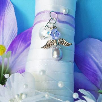angel wedding bouquet charm