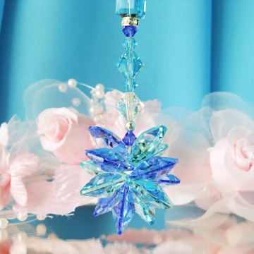 blue crystal suncatcher