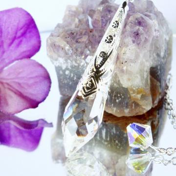 crystal divining pendulum