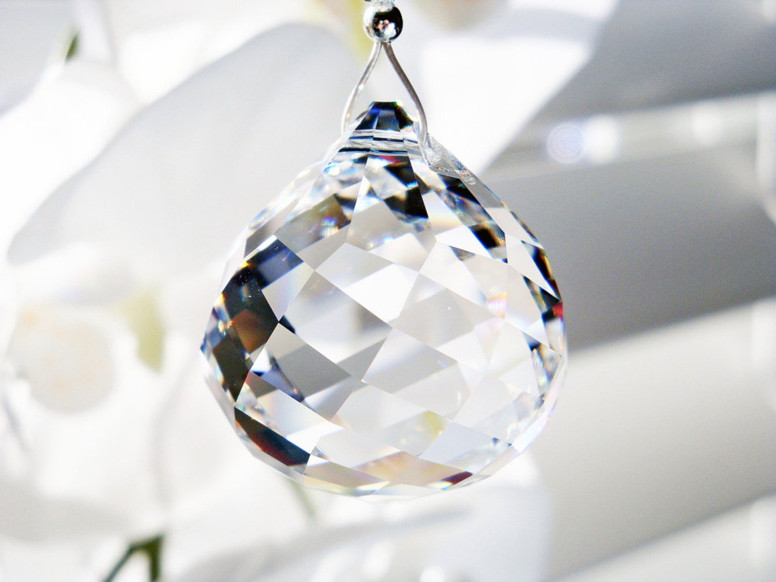 Swarovski Crystal Ball Ceiling Fan Pull Chain Light Pulls