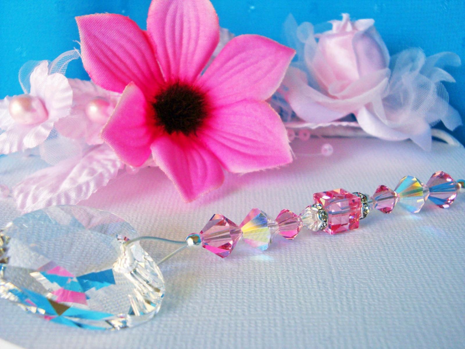 Ceiling Fan Pull Pink Light Pulls Swarovski Crystal