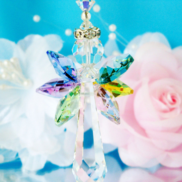 Guardian Angel Suncatcher Swarovski Crystal Rainbow Window Sun Catcher