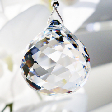 Swarovski Crystal Ball Ceiling Fan Pull Chain, Crystal Light Pulls