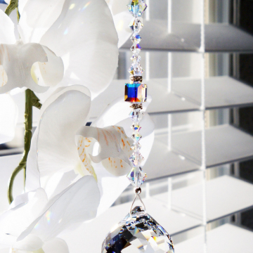 Swarovski Crystal Ball Ceiling Fan Pull Chain Light Pulls