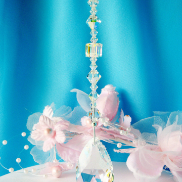 Swarovski Crystal Ceiling Fan Pull Chain Light Pull